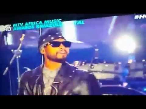 Sarkodie - performs with Miguel at 2014 MTV Africa Music Awards (MAMAs)