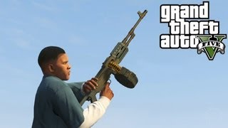 GTA 5: MG Location + Shooting Rampage Gameplay! Where To