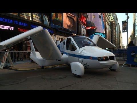 Un auto volador