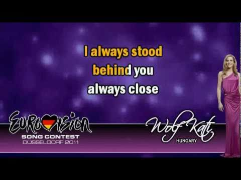 Kati Wolf  &quot;What about my dreams&quot; [KARAOKE] Instrumental Version - Eurovision 2011 Hungary