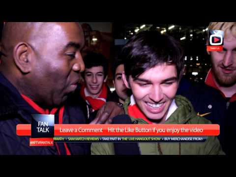 Arsenal 2 Tottenham Hotspurs 0 - The Fans Were Amazing - ArsenalFanTV.com