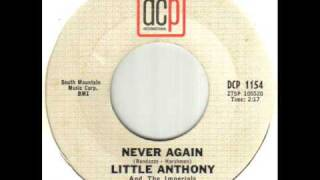 Little Anthony And The Imperials Never Again