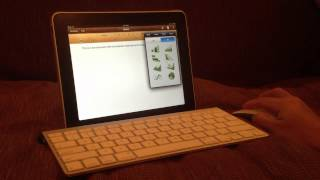 Bluetooth Keyboard & Mouse With IPad