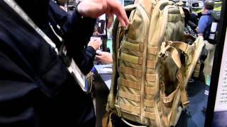 5.11 Tactical All Hazards Prime Backpack, Shot Show 2012