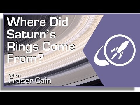 Where Did Saturn's Rings Come From?