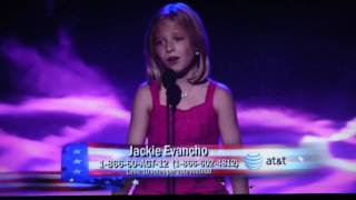 Jackie Evancho 1st Live Audition America's Got Talent
