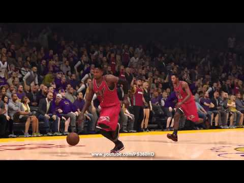 NBA 2k14: Next Gen - Dwyane Wade Gameplay | Heat vs Lakers | PS4