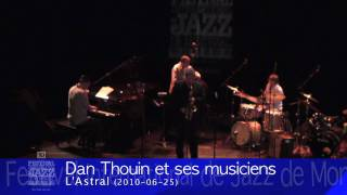 Dan Thouin and his musicians with Rémi Bolduc - 2010 Concert
