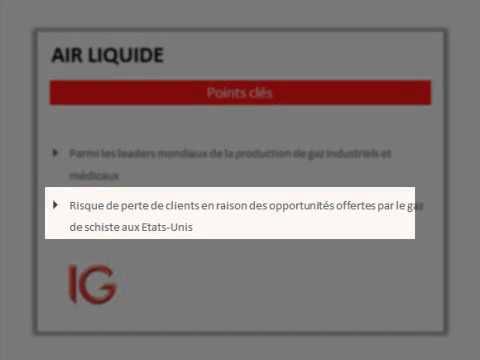 Air Liquide, en panne !