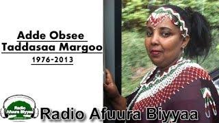 Radio Afuura Biyyaa Remembers the Late Jaal Obsee Taaddasaa Margoo