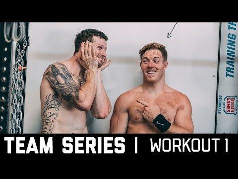 2018 CrossFit Team Series Ohlsen + Mayer | Workout 1