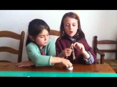 Tutorial para hacer una pulsera con gomitas de colores Elastic Color