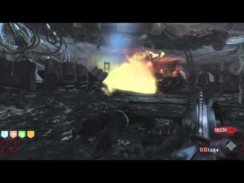Black Ops Zombies - Round 60 Tutorial, Playthrough Killing 3,500 Zombies Pt.2/20