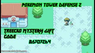 Pokemon Tower Defense 2 Shiny Treecko Mystery Gift Code
