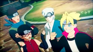 Naruto SUN Storm 4 - Road to Boruto Launch Trailer