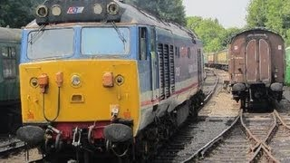 UK: English Electric Class 50 50027 Lion On The Mid Hants