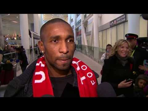 Jermain Defoe Arrives in Toronto