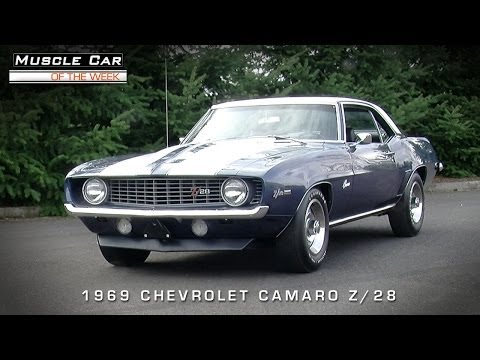 Muscle Car Of The Week Video #55: 1969 Chevrolet Camaro Z/28 302