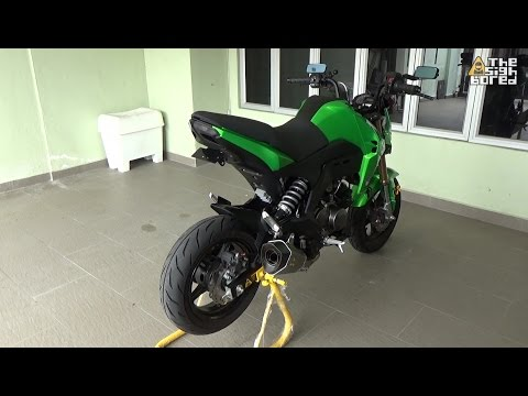 Kawasaki Z125 Pro modifications