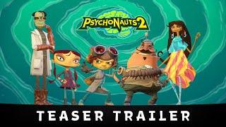Psychonauts 2 - Bejelentés Teaser
