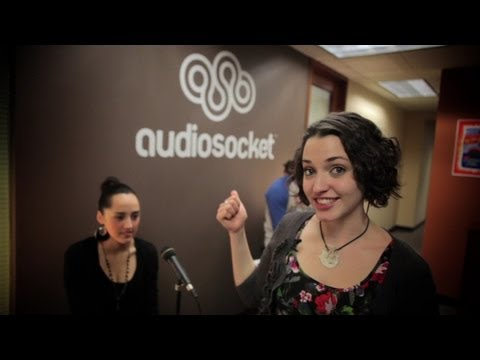 Meagan Rocks Out At Audiosocket
