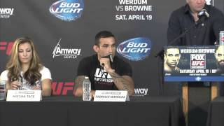 UFC on FOX 11: Pre-fight Press Conference