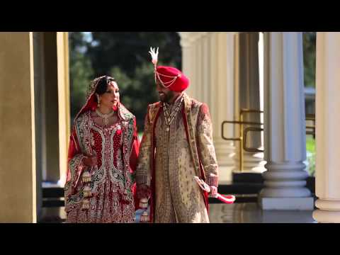 Indu+&+Sandeep's+SDE+Highlights HD (Sikh and Hindu Wedding)
