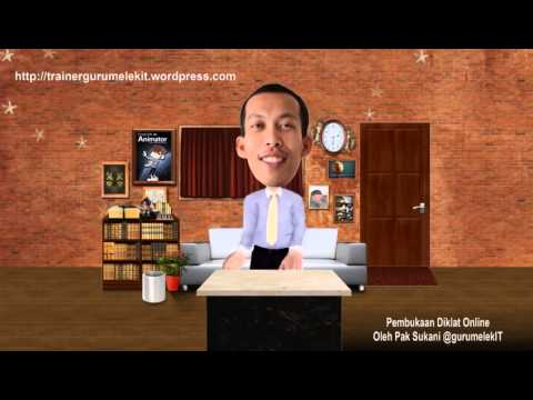 Pembukaan Diklat Online oleh Pak Sukani