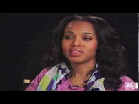 Kerry Washington Talks About Living In A 'Post-Racial' World