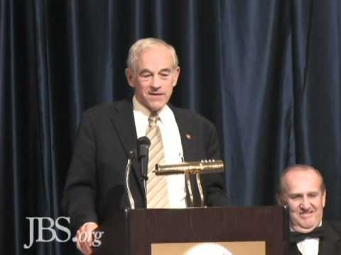 Ron Paul At the 50th Anniversary of JBS