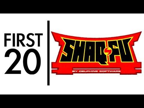 Shaq Fu - First20