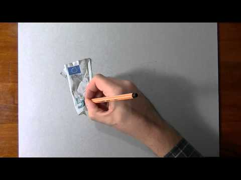 How To Draw-5 euro banknote drawing.mp4