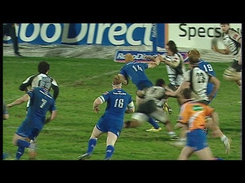 Great Darragh Fanning Solo Run - Zebre v Leinster 9th February 2014