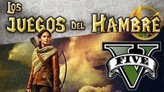 GTA V Online - Los Juegos Del Hambre #2  Creador De Contenidos GTA 5 Online