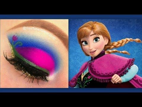 Disney's Frozen: Princess Anna inspired makeup tutorial