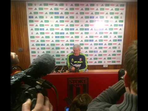 Mark Hughes muses on Stoke City v Arsenal & that great Stokie support