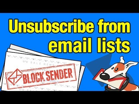 articles unsubscribe from