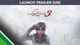 Syberia 3 - Megjelenés Trailer