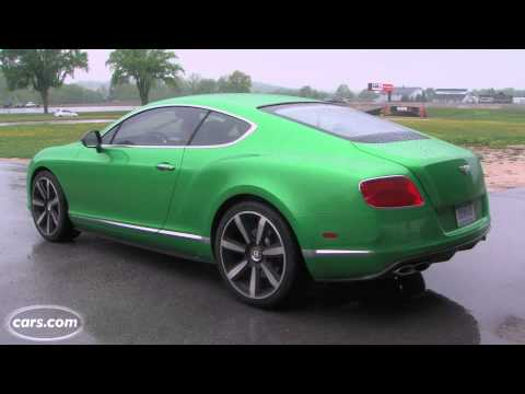 2013 Bentley Continental GT Exhaust Note
