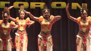 65th Sri Lanka Independence Day Toronto Canada 2013 - Pooja Dance - Upekkha Gangodawila