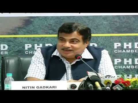 Shri Nitin Gadkari addresses National Road & Highway Summit at Siri Fort Auditorium - 15th July 2014