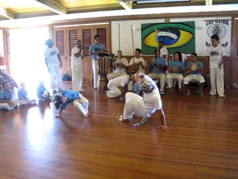 Mestre Bocoio at Mestre Kinha's batizado, Capoeira Besouro, Part 3, Honolulu, HI, Dec 10, 2011