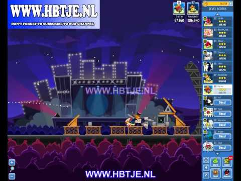 Angry Birds Friends Tournament Week 70 Level 5 high score 107k (tournament 5) Rock in Rio