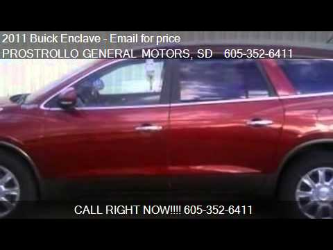 2011 Buick Enclave CXL-1 for sale in Huron, SD 57350 at PROS
