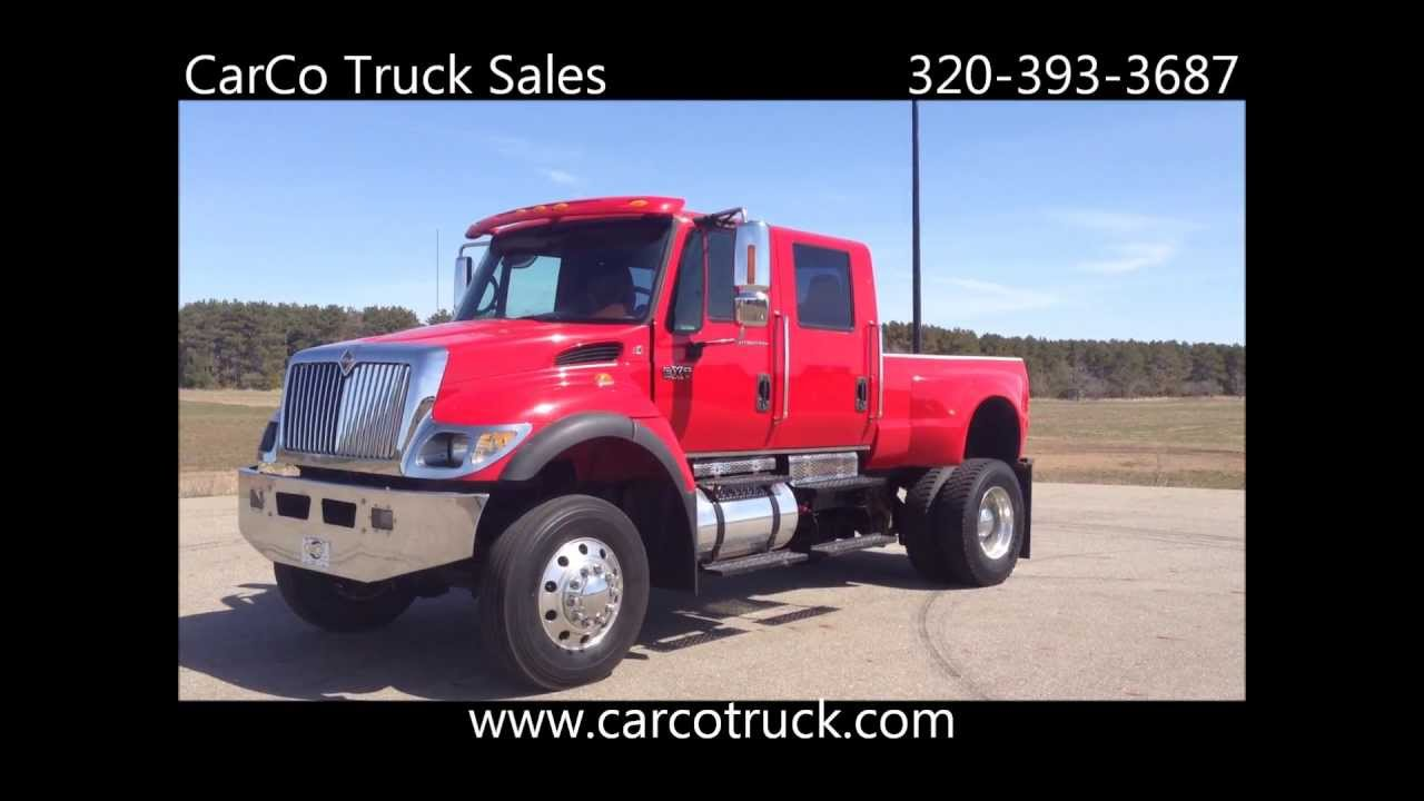 Cxt For Sale >> International CXT World's Largest Pickup Truck For Sale By CarCo Auto and Truck - YouTube