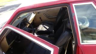 1986 Mustang Police Ssp Coupe Notchback