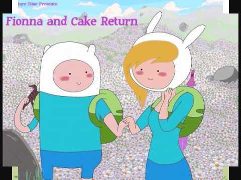 adventure time finn,jake,fionna and cake