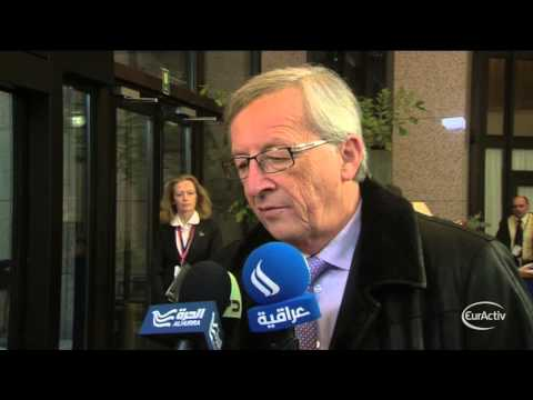 Luxembourg's Juncker arrives at the March 2013 EU image