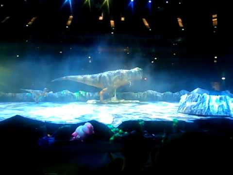 T-Rex Finale, Walking with Dinosaurs Arena Spectacular