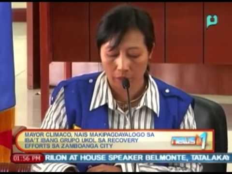Mayor Climaco, nais makipag-dayalogo sa iba't ibang grupo ukol sa recovery efforts sa Zamboanga